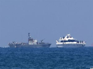 Aid ships remain closely watched by international bond market gunboats.
