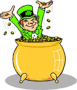 The leprechauns admitted misappropriating Ireland's strategic gold reserve.