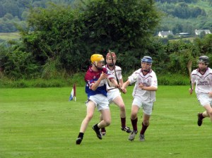 St. Mary's and Gortletteragh do battle before an enthralled crowd of hedges.