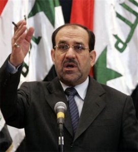 Prime Minister al-Maliki warns the Irish that Iraq is not their promised land.