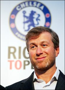 Roman Abramovich announced today that he was sacking himself with immediate effect.
