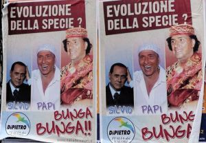 Surprisingly, Italians were shocked to discover Silvio Berlusconi is gay.