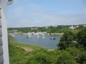 "A view of Cape Cod from the window of ""bankrupt"" David Drumm's home in Chatham."
