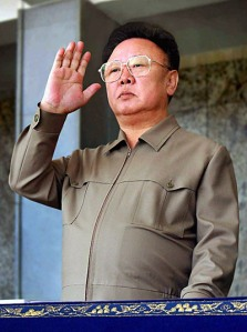 An inspired Kim salutes FF's efforts to keep the Irish peasantry under foot.