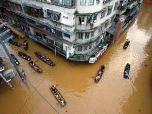 Daily life continues in China despite Al Gore.