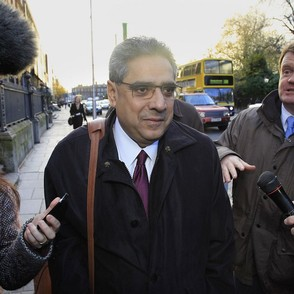 """Ajai Chopra of the IMF is most definitely not in Dublin,"" said Cowen on Nov. 18."