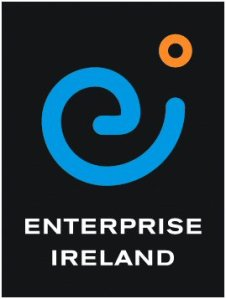 Enterprise Ireland's logo literally smirks, gives Ireland the finger.