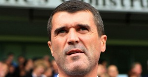 Roy Keane notes the identity of another prawn sandwich eater.