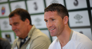 Robbie Keane said he was delighted to be working again.
