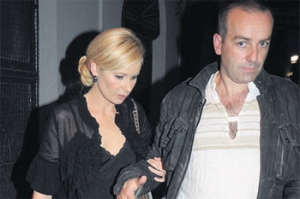 """This rare picture of Sharon with husband led to """"Lemming Sunday"""" in 2009."""