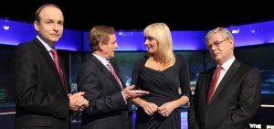 Miriam O'Callaghan comfortably beat the aborted foetus, the plank of wood, and the well-shaven Santa.