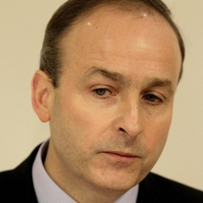 Micheal Martin reflects on the damage he and his Fianna Fail friends have done to the garage.