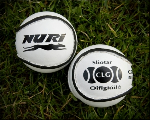 Ireland's sliotars wait hopelessly for the English backlash.