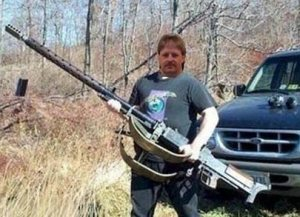 Mars Krieglieber taking a stand against crazy lone gunmen.